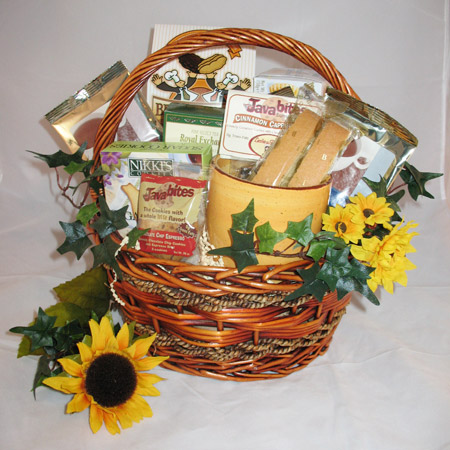 Gourmet Coffee Tea Gift Basket
